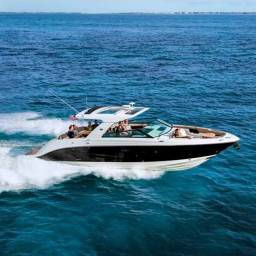 Lancha, jet ski, barco, Ferry boat