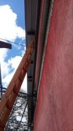 Calhas e telhados