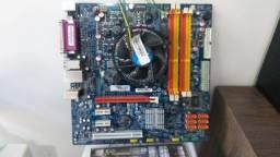 Placa 1156+ I5-750 3.0ghz  Megaware ECS H55h-cm R$520,00
