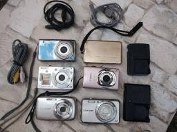 Lote Câmeras Digitais (Funcionando)