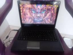 Notebook acer core i3 3gb memoria 500gb hd etc.