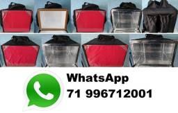 Mochila Bag para entregar lanche, comida ou pizza - aplicativo