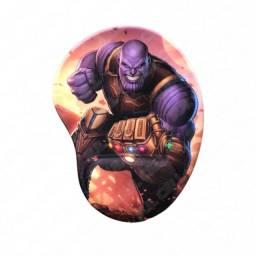 Mouse Pad c/ Apoio de Punho Modelo Thanos