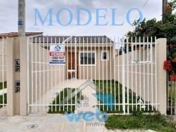 Linda casa à venda no Bairro Campo de Santana, ainda em fase de construção, podendo parcel