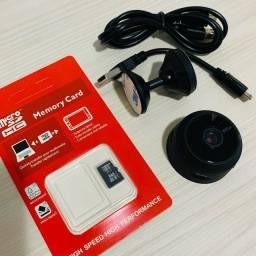 Mini Câmera Espiã HD Wi-Fi