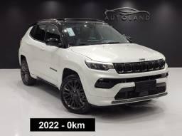 Nova Jeep Compass S 0km ? Versão topo de linha com teto Solar