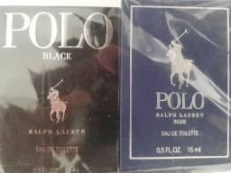 Kit 2 Perfumes Polo Ralph Lauren Eau De Toilette 15 ml Mini (Novo e Lacrado)