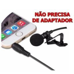Promoção microfone lapela novo lacrado