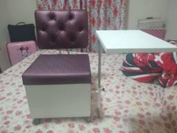 Cadeira para manicure (cirandinha)