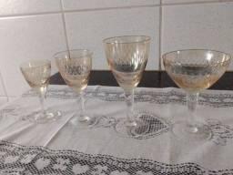 Taças cristais