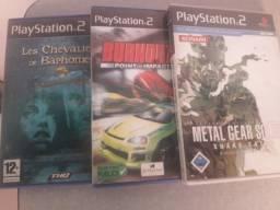 Vendo jogos de PlayStation 2