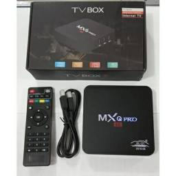 Smart TV Box Android MxqPro RK3229 7.1K 1G + 8G inteligente TVBox Amlogic ue us au uk
