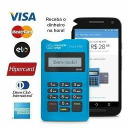 Maquininha cartao point Mini mercado pago via Bluetooth<br>Produto novo