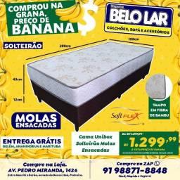Unibox Solteirão Molas Ensacadas, Compre no zap *