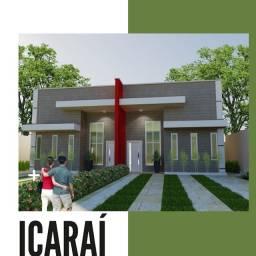 Casa no Icaraí com 3 quartos - Piso no porcelanato - 76 m²
