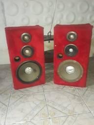 Par de caixa de som