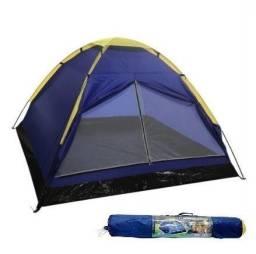 Barraca de Camping + Colchão Inflável de casal NOVO