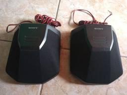Caixas surround Sony Originais perfeitas e raras