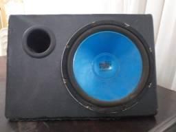 caixa de som simples
