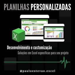 Planilhas Personalizadas em Excel