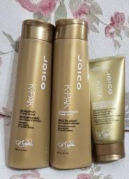 Kit Joico (shampo, condicionador e máscara de tratamento)