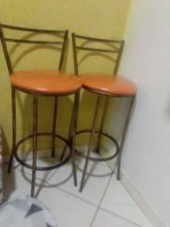 Lindas cadeiras para bar