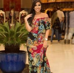 Vestido de viscose Zinzane (GG)