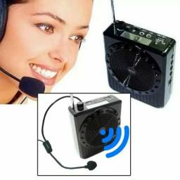 Rádio FM e megafone amplificador de voz;) entrega grátis
