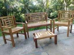 Conjunto de Cadeiras Externas