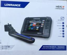 Lowrance HDS 7 Gen Multi-Touch Display TotalScan