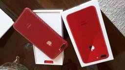 IPhone 8 Plus vermelho