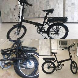 Bicicleta Dobrável Elétrica Sense Easy Preta 2.800,00