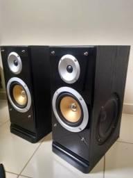 Caixa/monitor estúdio Pure Acoustics QX550. Importado. Raro no Brasil!