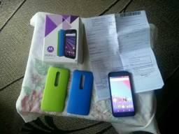 Vendo Smartphone Motorola Moto G3? Geração completo com nota fiscal