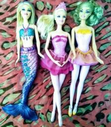 Barbies Sereia e Bailarinas