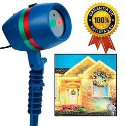 Queima de estoque promoção Projetor Laser Casa Jardim Light Natal Bivolt Led 5w Espeto