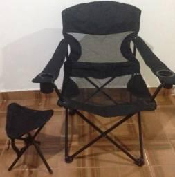 Cadeira dobrável camping Nautika