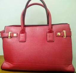 5b1e414b199 Bolsa feminina vermelha