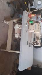 Máquina de costura transporte dupra