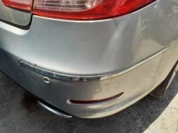 Friso Cromado Parachoque Traseiro Peugeot 408 Direito