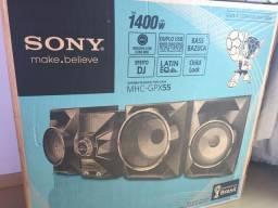 Mini System Sony 1400W RMS (NOVO)