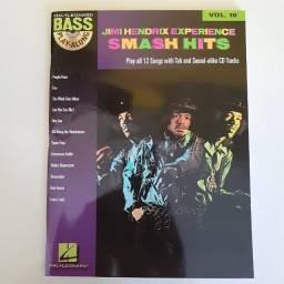 Método Baixo Jimi Hendrix - Smash Hits: Bass Play-along