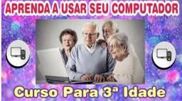 Aulas de Informática para Melhor Idade / Remoto / Presencial