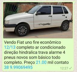 Fiat uno econômico completo12/13