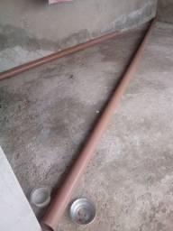 Tubo pvc 100mm Luperplas para poço artesiano