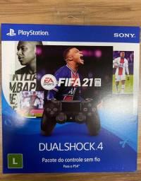 Controle Sony Dualshock 4 Preto sem fio Lacrado