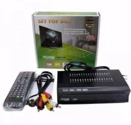 Receptor Tv Digital Multimídia Com Gravador Set Top