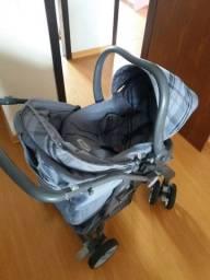Carrinho de bebê Burigotto + bebê conforto