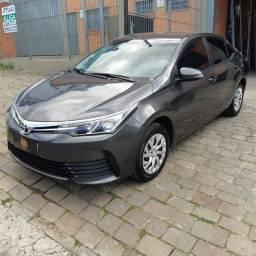 Vendo Toyota Corolla GLI 2018 Aut Multimídia