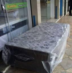 Cama Box De Solteiro